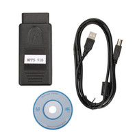 Wholesale Opel Edc16 Tool - OBD2 MPPS V16.1.02 obd2 Scanner Tools for Cars MPPS ECU Chip Tuning for EDC15 EDC16 EDC17 Inkl with CHECKSUM Diagnostic Tools Cars