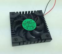 enfriador de msi cpu al por mayor-ADDA AP0505LX-J90 5V 0.1A 2Wire ventilador de disipador de calor ultradelgado, para MSI K7N2 North / South Bridge Chipset placa base Cooler CPU Fan