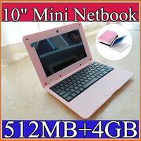 Wholesale Netbook Cortex - Wholesale laptop 10 inch Dual Core Mini Laptop Android 4.2 VIA 8880 Cortex A9 1.5GHZ HDMI WIFI 512MB 4GB Mini Netbook C-BJ