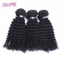 Wholesale Kinky Curly Brazilian Extensions - 9A Kinky Curly Virgin Hair 3 Bundles Brazilian Virgin Hair Weave Extensions Peruvian Malaysian Indian Cambodian Human Hair Bundles