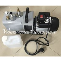 Wholesale Vacuum Pump For Suction - Free shipping Direct two-stage rotary vane air vacuum pump suction pump 2XZ-0.5 for OCA Laminating and LCD screen separator