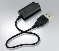Wholesale black spinners - Ecig EGO USB Charger 5V Long Short Black EGO Charger for ego t evod vision spinner 2 Battery DHL FREE