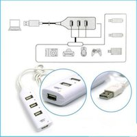 Wholesale China Accessories Chargers - High Speed Mini 4 Ports USB 2.0 Hub USB Port For Laptop PC Computer Laptop Peripherals Accessories Drop Shipping