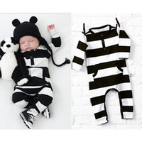 Wholesale Long Sleeve Baby Bodysuit 24 - Baby Clothes Newborn Infant Baby Boy Girl Kids Cotton Romper Jumpsuit Bodysuit Clothes Outfit Long Sleeve Jumpsuit Child Winter Clothes