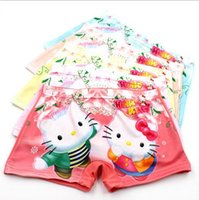 Wholesale Grils Underwear - new hello kitty baby Panties Underpants Boxers hello kitty Underwear grils cartoon 3D Panties