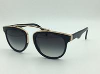 Wholesale Lunettes Cat Eyes - Women men Sunglasses Gradient Lens Cat Eye Luxury Brand Design Sun Glasses Vintage Outdoor Spectacles Eyeglass lunettes De Soleil Femmes