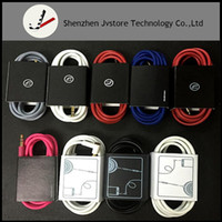 Wholesale Headphone Cables Volume - Replacement Headphone Cable for Solo Studio 2.0 Earphone Remote Volume Control Cable Version with Mic for iPhone