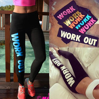 Hot Fashion Winter Bequeme Frauen Workout Fit Hosen Enge sitzung Work Out Nur Do Print Lose Baumwolle Leggings One Size LN1011