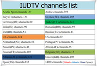 Wholesale Google Android Watches - IUDTV Sweden Iptv Subscription Watch Arabic Italy Turkey UK Portuagl Romania Russian 2000+ European Channels Work On Android Box E2 MAG m3u