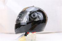 Wholesale Motocross Lens - NEW best safe motorcycle helmet dual lens visors flip up motocross helmet warm windproof sand dust proof Free shipping