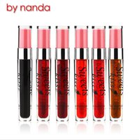Großhandels-neue Art und Weise von Nanda Sweet Kiss Stained Lippen professionellen Make-up wasserdichte flüssige Lippenstift Langlebige Moisturizing Lip Gloss