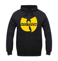 Wholesale wu tang sweatshirt - Wholesale-wu tang clan hoodie for men classic style winter sweatshirt 5 style sportswear hip hop jacket clothing fast shipping ePacket