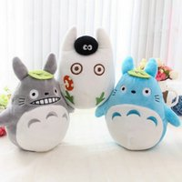 Wholesale Totoro Baby Pillow - 15-18 CM plush Car Bamboo bag cartoon totoro plush toys baby toys pillow cloth doll Birthday gift for Children's day