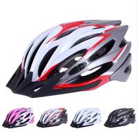 capacetes de bicicleta de montanha adulto venda por atacado-Capacete de ciclismo Adultos Bicicleta Casque Capacete Mountain bike Bicicleta de Estrada Cabeça Equipamento de Proteção Unisex Equitação Capacete