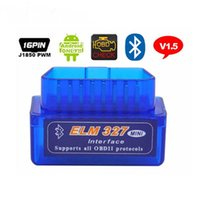 ELM327, Bluetooth, OBD2, V1.5 Automobilfehlerscanner, Diagnoseinstrument, Antriebscomputer