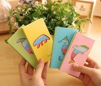Wholesale Paper Cutouts - 2016 new Paper Products Cutout animal color page mini memo pad notepad Five from the free shipping