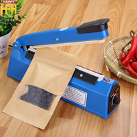 Wholesale Heat Plastic Sealer - Manual Hand Sealer Sealing Machine Plastic Heat Sealing Machine Hand Push Seal Bag Making Machines Plastic Laminating Machines