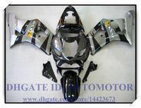 Wholesale Gsxr New Fairings - Injection 100% brand new fairing kit fit for Suzuki GSXR1000 2003 2004 GSX-R1000 2003 2004 GSXR 1000 03 04 #BJ330 BLACK GREY