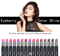 Wholesale Bean Waterproof - 2016 New Fashion 15-Color Charming Available Suitable For Any Occassions Retro Waterproof Long Lasting Matt Bean Makeup Lipstick