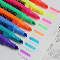 Wholesale free office supplies for sale - Group buy DHL Colors Manga Sketch Marker Pen Art Marker Pen Five Generation Highlighter Alcohol Oily Mark Pen Art Supplies