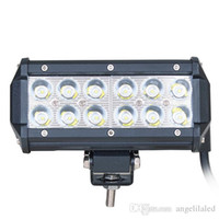 36W Flood LED Work Light Off Road LED Light Bar Super Bright pour Jeep Cabin Boat SUV Truck Car ATVs
