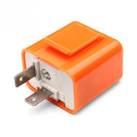 Compra Relè Flash Principale-1Pcs 2 pin 50C / m-200C / M Motore LED lampeggiatore Relay Fix 12V Speed ​​Flash Motociclo regolabile ordine di turno luce di segnale indicatore di resistenza di $ 18no