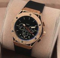 Wholesale Cheap Hand Watches - 1pcs Quartz Big Bang hot man date brand new drop shipping Mechanical cheap High quality master men watch luxury sports Men's Watches #978