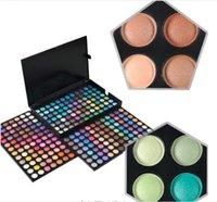 precio kit de maquillaje de ojos al por mayor-Gran paleta de sombras de ojos de 252 colores Shimmer Matte Eye Shadow Makeup Eyes Cosmetic Kit Precio barato US DHL Free