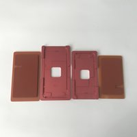 almohadilla táctil de manzana al por mayor-Alineación precisa del marco de la pantalla táctil LCD y laminación del molde del molde de metal con el cojín de goma para el iPhone 8 8G 8 más
