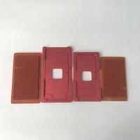 ingrosso iphone touch pad-Allineamento preciso della struttura del touch screen LCD e muffa di laminazione della muffa del metallo con il cuscinetto di gomma per il iPhone 8 8G 8 più