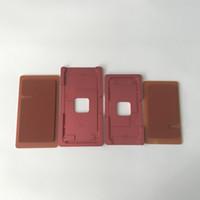 iphone schirmformen großhandel-Präzise LCD Touch Screen Frame Alignment und Laminierung Metallform Form mit Gummiauflage für iPhone 8 8G 8 Plus