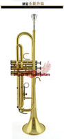 Wholesale Trumpet Jbtr - withcase JBTR-300 New professional trumpet great sound metal techn Free shipping