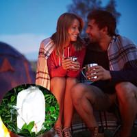 iluminación de cuerda al por mayor-Luces de cuerda de LED portátil Linterna Flexible tira de Led Luces de la secuencia de camping Luces de emergencia Emergencias Luz impermeable para ciclismo Senderismo