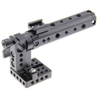 Wholesale Top Handle For 15mm Rods - CAMVATE DSLR Top Handle Rig w  Top Plate 15mm Rod Clamp Cold Shoe Mount fr Canon Sony