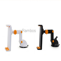 Wholesale Cup Holder Car Tablet - Universal Dashboard Car Mount Phone Holder Sticky Suction Cup Tablet Mounting Bracket for iPad 4 5 6 Mini 4 GPS 9.7 Inch