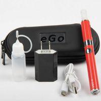 Wholesale E Cigarette Ego V Tank - UGO-V E Cigarettes eGo kit USB passthrough 650mah 900mah UGO-V Battery with ECigs MT3 Vaporizer Atomizer tanks vape pens starter Kits DHL
