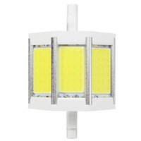 Acheter R7s a mené 78-Dimmable / Non Dimmable R7S 10/15/20 / 25W 78/118 / 135 / 189mm Ampoule pur blanc chaud COB SMD LED Floodlight spot Corn Light Lamp 85-265V