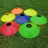 Wholesale Space Markers - Outdoor Sports Cross Speed Training Equipment Soccer Space Markers Cones Rugby Speed Training Disc Cone Football Training Logo Plate