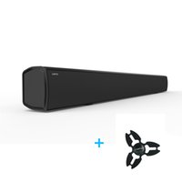 Atacado- 2017 LONPOO Bluetooth Soundbar para TV Slim Column Speaker Soundbar Optical para TV Estéreo Home Theater Sound Bar Subwoofer