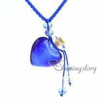 Wholesale Heart Vial Pendant - essential oil necklace diffuser necklaces essential oil diffuser pendant necklace vials