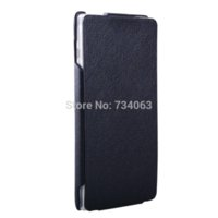 Wholesale Xperia C Mobile Cover - For Sony Xperia C S39H C2305 Vertical Flip PU Leather Case Up and Down Business Cover Pouch Mobile Phone Protective Bag Fundas