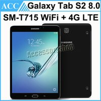 Wholesale S2 Lte - Refurbished Original Samsung Galaxy Tab S2 SM-T715 T715 8.0 inch Wifi + 4G LTE 3GB RAM 32GB ROM 8.0MP Camera Android Tablet PC