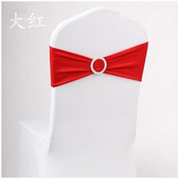 куртки из органзы для свадеб оптовых-100 шт. DHL бесплатная доставка готовой края спандекс лайкра стул полосы эластичный стул пояс с пряжкой для свадьбы