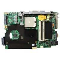 carte mère asus amd achat en gros de-K40AB REV 2.1 carte mère d'ordinateur portable pour ASUS k40 Series ordinateur portable socket AMD s1 cpu AMD HD 512M GPU inclus DDR2