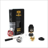 Wholesale Pre Filled - Authentic Ijoy Combo RDTA Tank RDA Atomizer Interchangeable Deck with 7 options Side Filling System 6.5ml Atomizer IMC-COIL Pre-made Coil