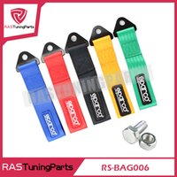 Wholesale Rs Racing - SPARC Towing Rope High Strength Nylon Trailer Towing Ropes Racing Car Universal Tow Eye Strap RS-BAG006