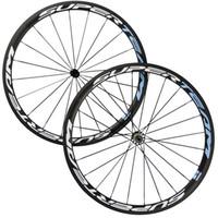 Wholesale Chinese Wheel Bike - Superteam 38mm Clincher Carbon Fiber bike Wheels Matte Finish Carbon Wheelset Chinese Carbon Wheel Bike Wheel