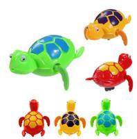 ванна с черепахой оптовых-Дети в конечном итоге плавание смешные Черепаха черепахи мода новинка бассейн животных игрушки для детей время купания