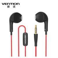 Wholesale Dolphin Mp3 - Vention VAE-T03 Dolphin Earphone Headphones Earphone Headphone Headset For XiaoMi Samsung iPhone MP3 MP4 With Remote And MIC