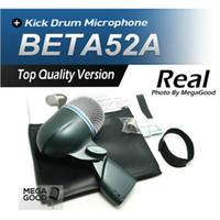 ingrosso drum sales-Vendita Spedizione gratuita !! BETA52 Kick Drum Bass Instrument Microfono professionale BETA Sound System per Stage Show Studio 52A Nuovo Boxed !!